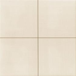 Carrelage uni blanc cassé beige MOON White 44x44 cm - 1.37m² Realonda