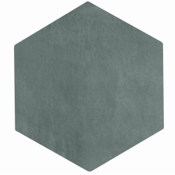 Carrelage tomette gris bleu 22.5x26cm CONCRET PARIS - 0.66m² Natucer