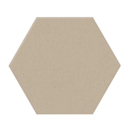 Carrelage tomette design unie Beige CREAM 15x17cm NEW PANAL - 0.5m² Natucer