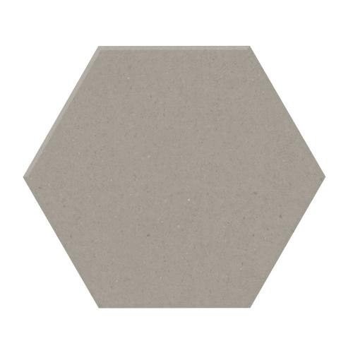 Carrelage tomette design unie Gris taupe STORM 15x17cm NEW PANAL - 0.5m² Natucer