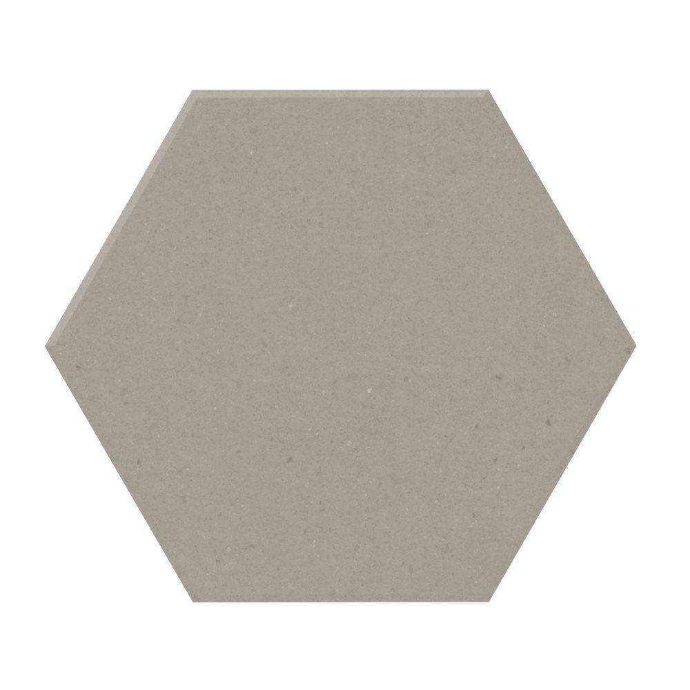 Carrelage tomette design unie Gris taupe STORM 15x17cm NEW PANAL - 0.5m² - zoom