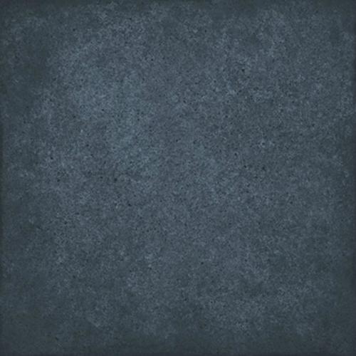 Carrelage uni vieilli bleu 20x20 cm ART NOUVEAU NAVY BLUE 24397 - 1m² Equipe
