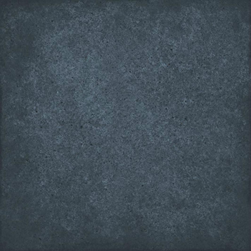 Carrelage uni vieilli bleu 20x20 cm ART NOUVEAU NAVY BLUE 24397 - 1m² - zoom