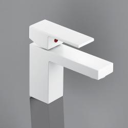 Robinet mitigeur lavabo blanc mat Eden Ottofond