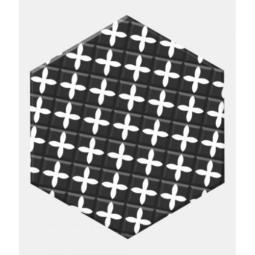 Carrelage tomette patchwork style ciment 33x28.5 GRAZIA DECOR - 1m² Realonda