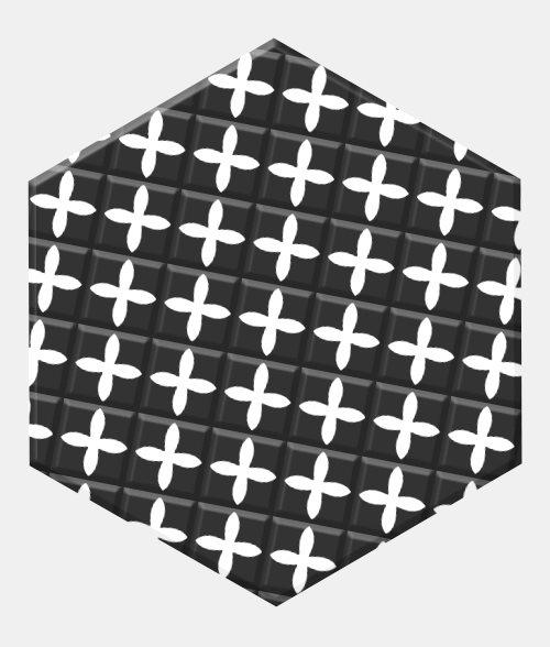 Carrelage tomette patchwork style ciment 33x28.5 GRAZIA DECOR - 1m² - zoom