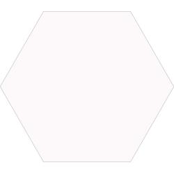 Carrelage tomette blanche 33x28.5 OPAL BLANC - 1m² Realonda