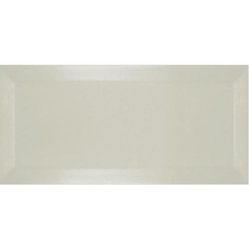 Carrelage Métro biseauté ivoire brillant 10x20 cm - 1m² Ribesalbes