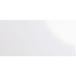 Carrelage métro plat 10x20 cm blanc brillant FLAT BLANCO BRILLO - 1m² Ribesalbes