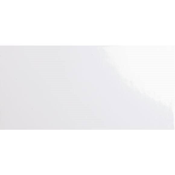 Carrelage métro plat 10x20 cm blanc brillant FLAT BLANCO BRILLO - 1m² - zoom