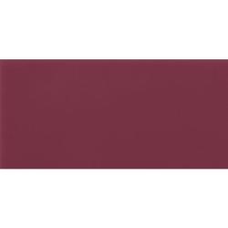 Carrelage Métro plat 10x20 cm amarante brillant FLAT MALVA BRILLO - 1m² Ribesalbes