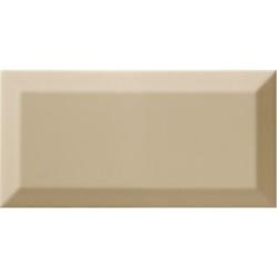 Carrelage Métro biseauté olive brillant 10x20 cm - 1m² Ribesalbes