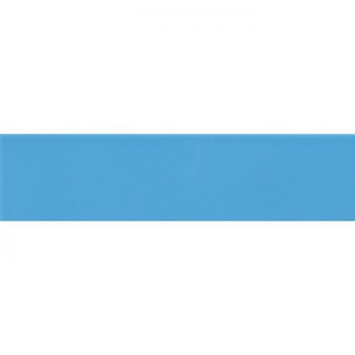 Carreau métro plat bleu azur brillant 10x30 cm - boite de 1.02m² Ribesalbes