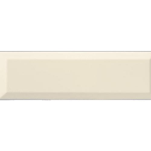 Carrelage Métro biseauté 10x30 cm bone beige brillant - 1.02m² - zoom