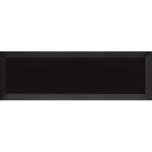 Carrelage Métro biseauté 10x30 cm noir brillant - 1.02m² Ribesalbes