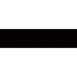Carreau métro plat noir mat 10x30 cm - boite de 1.02m² Ribesalbes
