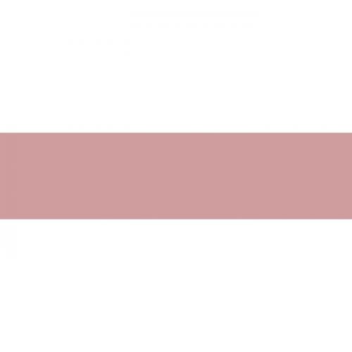 Carreau métro plat rose brillant 10x30 cm - boite de 1.02m² Ribesalbes