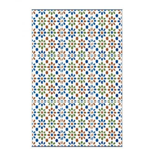 Azulejo Sevillano CORDOBA 20x30 cm COLLECTION ZOCALO - 1.5m² Ribesalbes