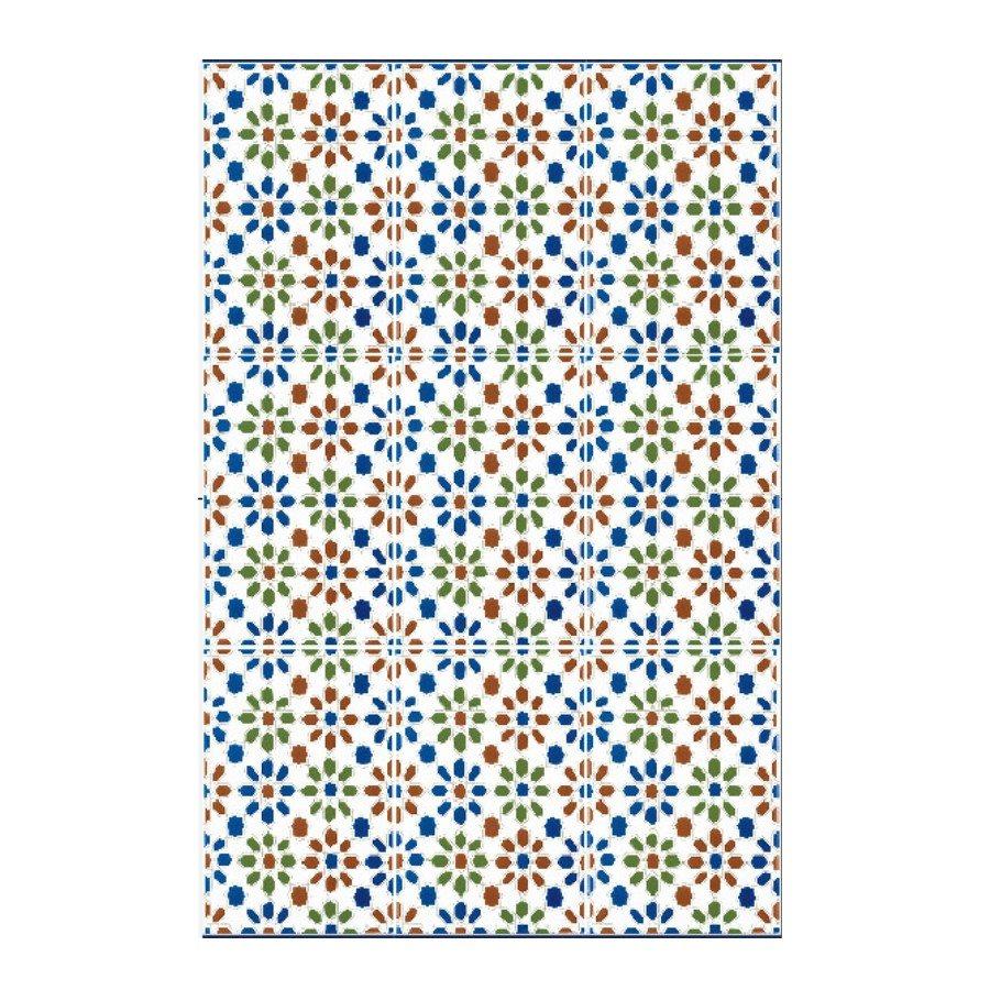 Azulejo Sevillano CORDOBA 20x30 cm COLLECTION ZOCALO - 1.5m² - zoom