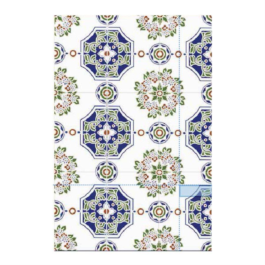 Azulejo Sevillano JEREZ 20x30 cm JEREZ COLLECTION ZOCALO - 1.5m² - zoom