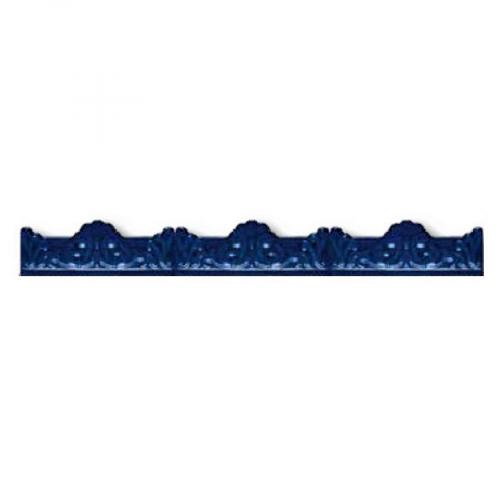 Azulejo Sevillano Moulure Baroque Bleu 5x20 - 29 unités Ribesalbes