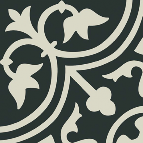 Carrelage imitation ciment décor blanc 20x20 cm PASION BLANCO - 1m² Ribesalbes