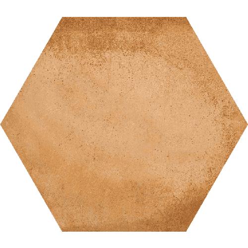 Carrelage hexagonal tomette décor 23x26.6cm BAMPTON Natural - 0.50m² - zoom