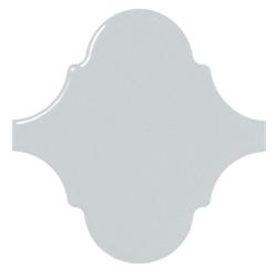 Carreau bleu ciel brillant 12x12cm SCALE ALHAMBRA SKY BLUE - 0.43m² Equipe