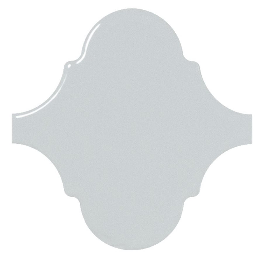 Carreau bleu ciel brillant 12x12cm SCALE ALHAMBRA SKY BLUE - 0.43m² - zoom