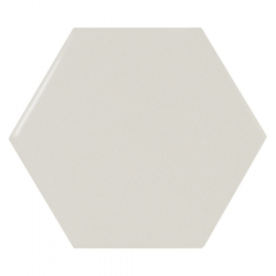 Carreau menthe brillant 12.4x10.7cm SCALE HEXAGON MINT - 0.61m² Equipe