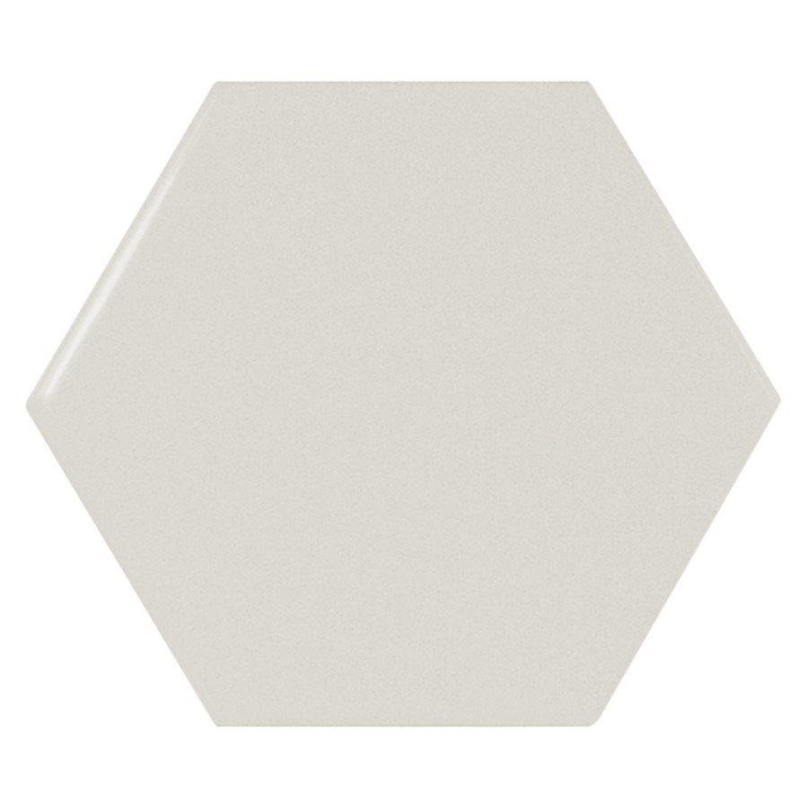 Carreau menthe brillant 12.4x10.7cm SCALE HEXAGON MINT - 0.61m² - zoom