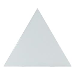 Carreau bleu ciel brillant 10.8x12.4cm SCALE TRIANGOLO SKY BLUE - 0.20m² Equipe