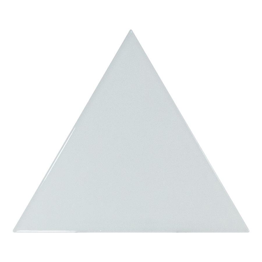 Carreau bleu ciel brillant 10.8x12.4cm SCALE TRIANGOLO SKY BLUE - 0.20m² - zoom
