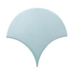 Carreau écaille bleu clair nuancé 12.7x6.2 SQUAMA MAYA - 0.377m² Natucer