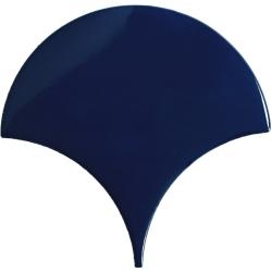 Carreau écaille bleu marine nuancé 12.7x6.2 SQUAMA TURCHESE - 0.377m² Natucer