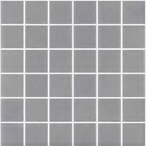 Mosaique grise 5x5 sur trame 30.7x30.7 ANTI 558 B8 - 2 m² - zoom