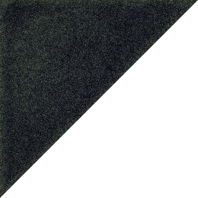 Carrelage scandinave triangulaire noir 20x20 cm SCANDY Antracita R10 - 1m² - zoom