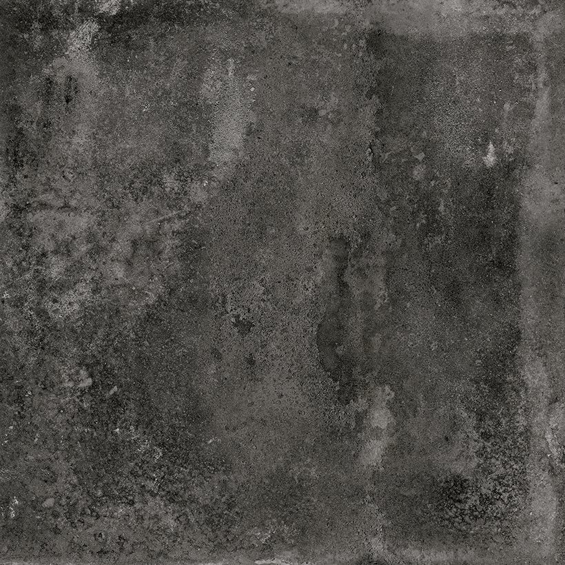 Carrelage imitation ciment noir 20x20cm URBAN DARK 23527 R9 - 1m² - zoom