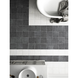 Carrelage imitation ciment noir 20x20cm URBAN DARK 23527 R9 - 1m² Equipe