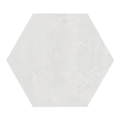 Carrelage hexagonal blanc 29.2x25.4cm URBAN HEXAGON LIGHT 23511 R9 - 1m² Equipe