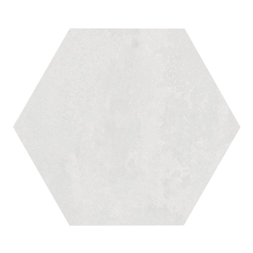 Carrelage hexagonal blanc 29.2x25.4cm URBAN HEXAGON LIGHT 23511 R9 - 1m² - zoom