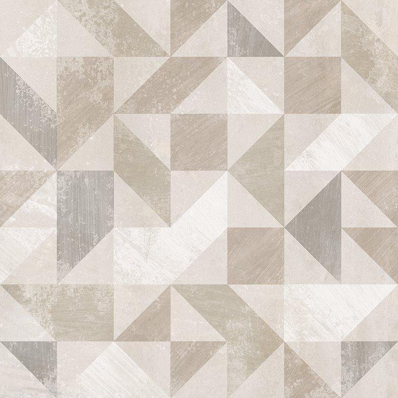 Carrelage imitation ciment décor beige 20x20cm URBAN FOREST NATURAL 23614 R9 - 1m² - zoom