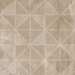 Carrelage imitation ciment décor beige marron 20x20cm URBAN HANDMADE NUT 23594 R9 - 1m² Equipe