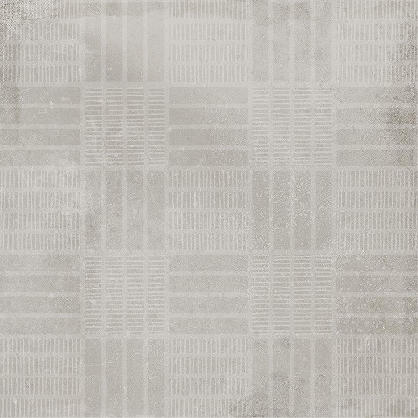 Carrelage imitation ciment décor gris 20x20cm URBAN HANDMADE SILVER 23595 R9 - 1m² - zoom