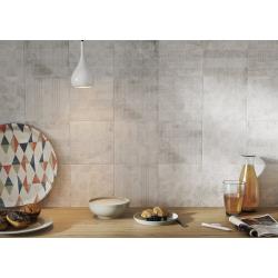 Carrelage imitation ciment décor gris 20x20cm URBAN HANDMADE SILVER 23595 R9 - 1m² Equipe