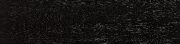 Carrelage ARHUS noir imitation parquet style chevron rectifié 14.4x89 - 1.29m² - zoom