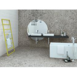 Carrelage imitation ciment 60x60 cm CEPPO DI GRE Cemento R09 - 1.08m² Vives Azulejos y Gres