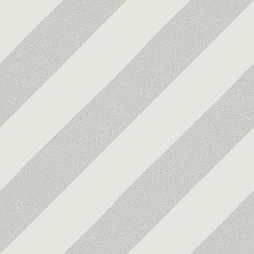 Carreau style ciment rayure grise 20x20 cm GOROKA GRIS - 1m² Vives Azulejos y Gres