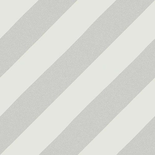 Carreau style ciment rayure grise 20x20 cm GOROKA GRIS - 1m² - zoom
