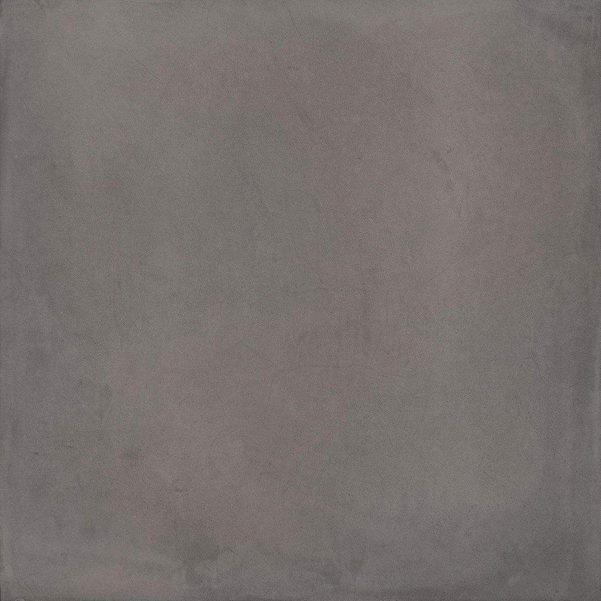 Carrelage gris anthracite mat 80x80cm LAVERTON-R GRAFITO - 1.28m² - zoom